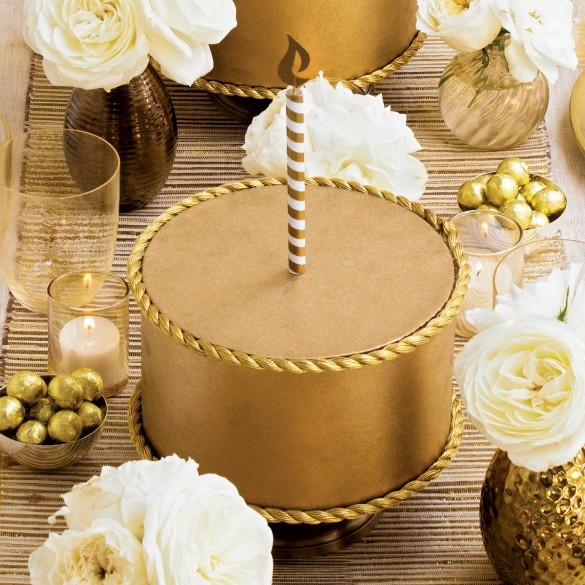 Darcy Miller Gold Cakes How To