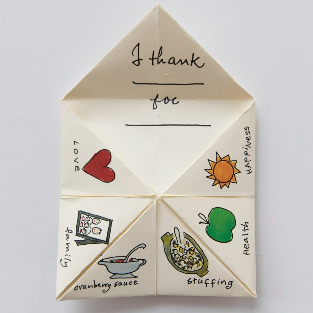 Thanksgiving cootie catcher darcy miller designs what youll need cootie catcher template paper maxwellsz