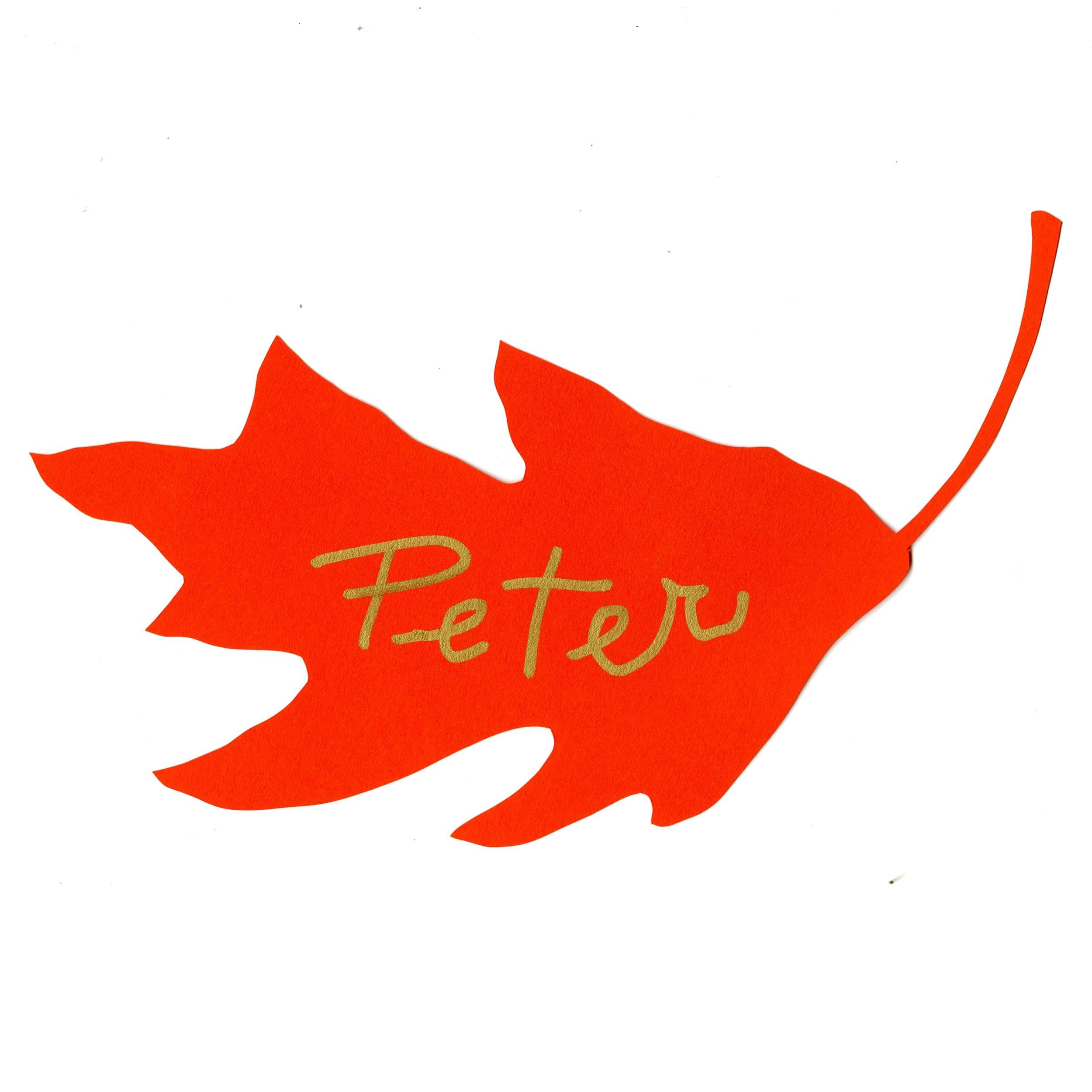 leaf-place-card