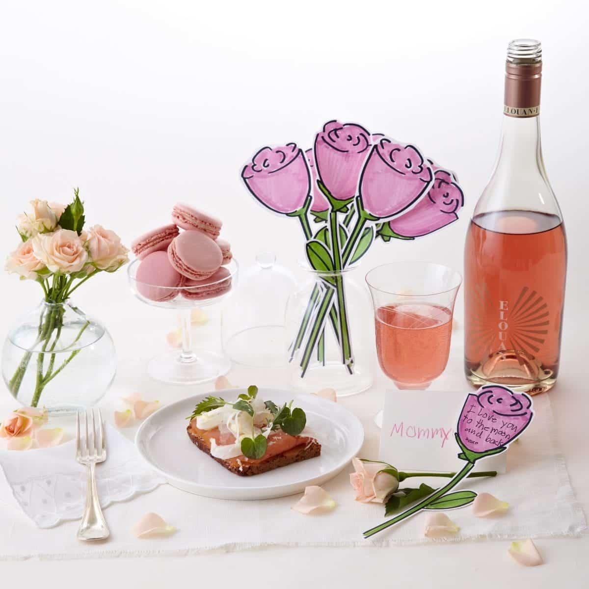 Darcy Miller, Mother's Day, Brunch, Roses