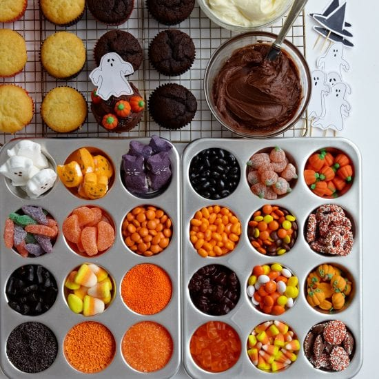 Darcy Miller Designs_Halloween_Creepy Cupcake Bar