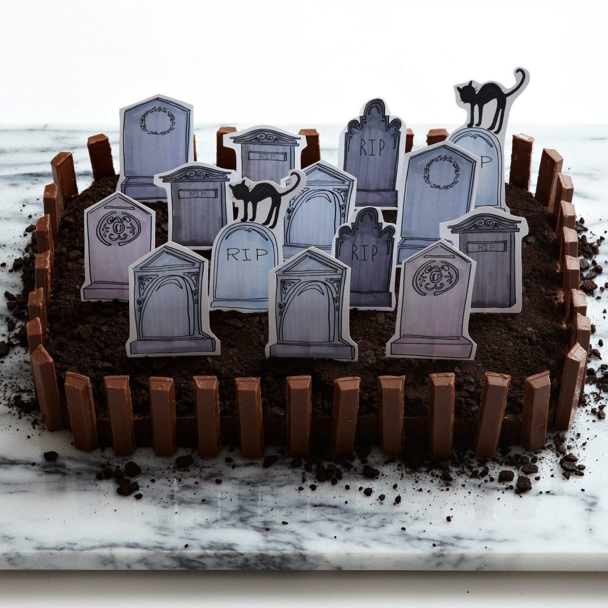 Darcy Miller Designs_Halloween_Brownie Graveyard