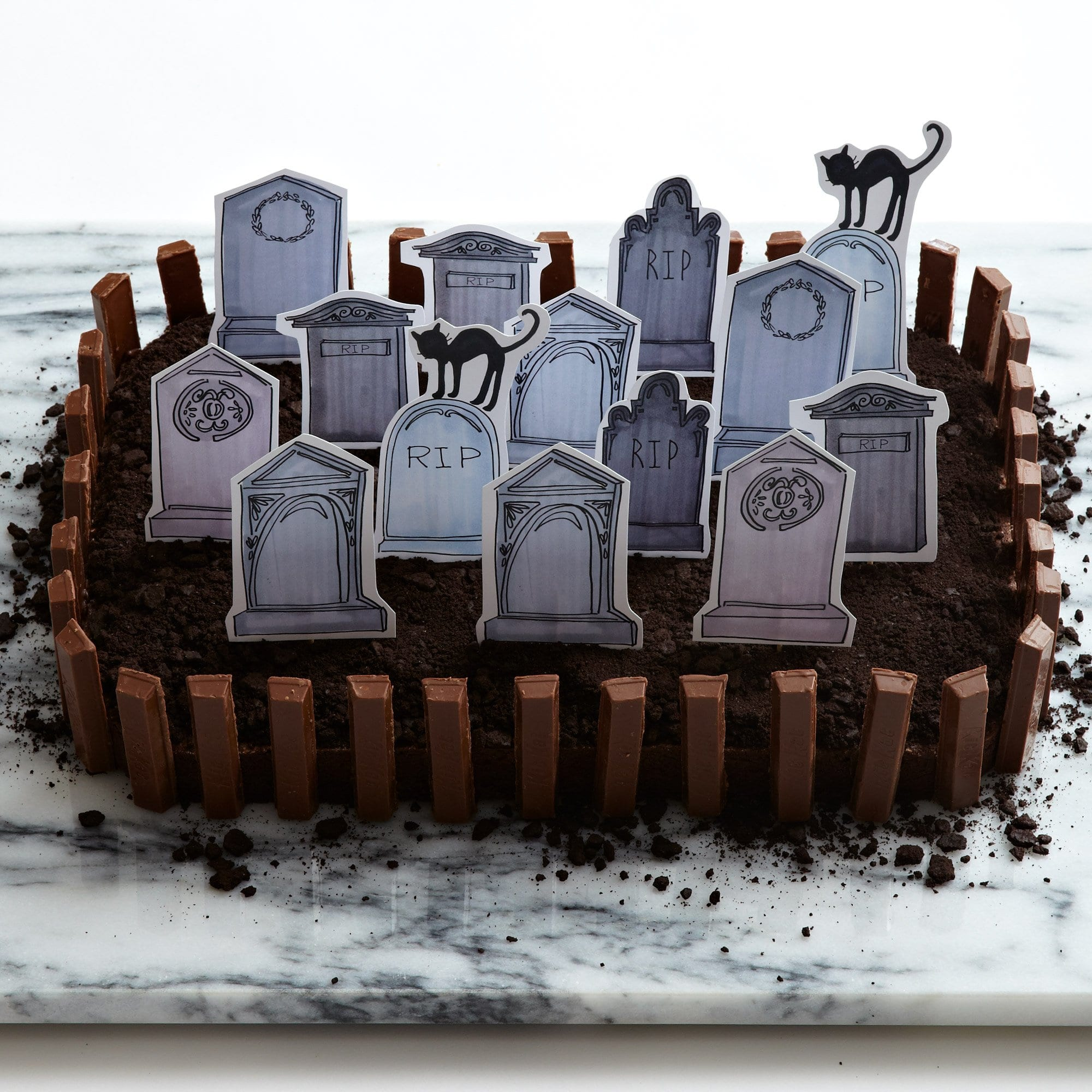 Darcy Miller Designs_Halloween_Brownie Graveyard