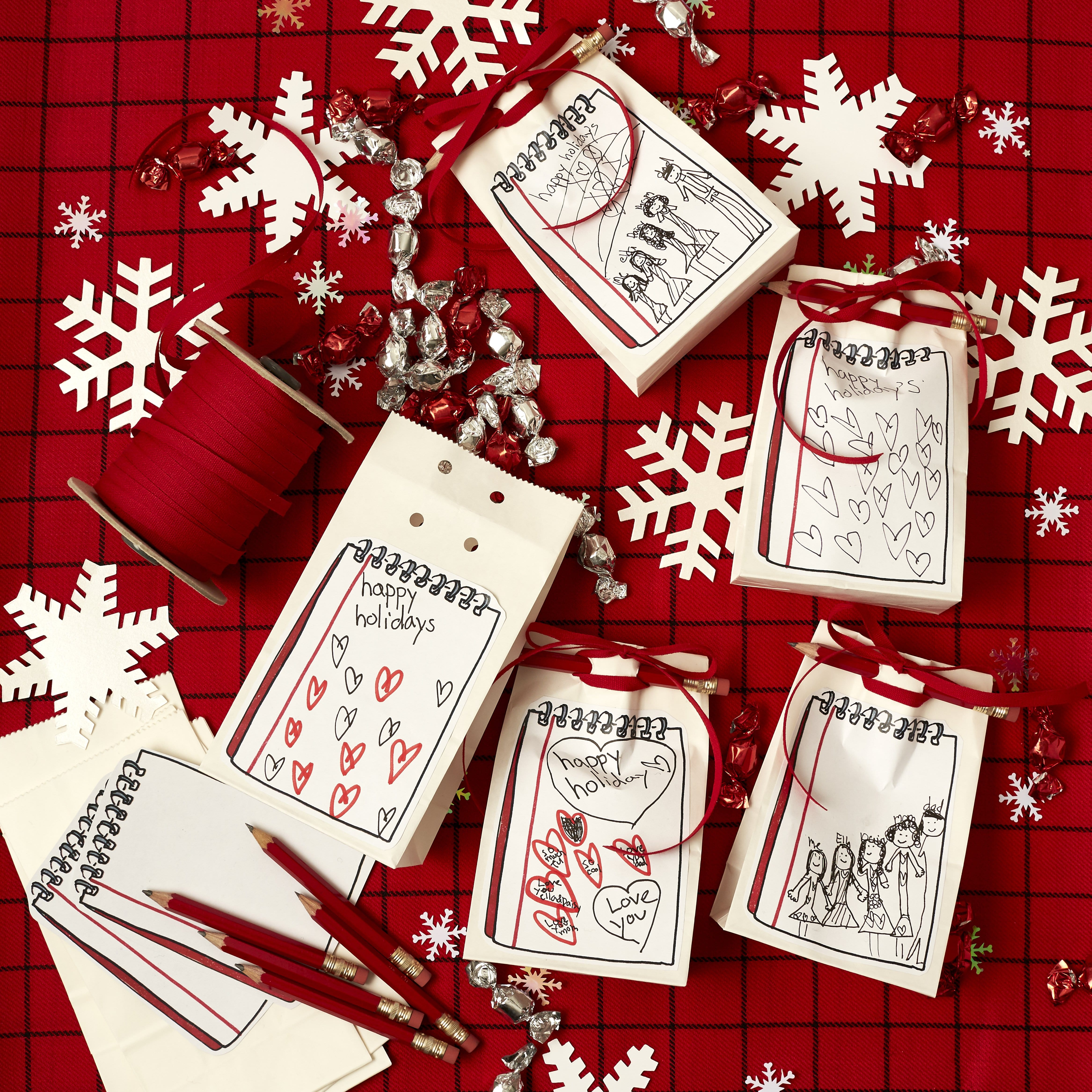 Darcy Miller Designs_gift wrapping, gift tag, holiday, printable, creative gift, sticker, easy wrapping