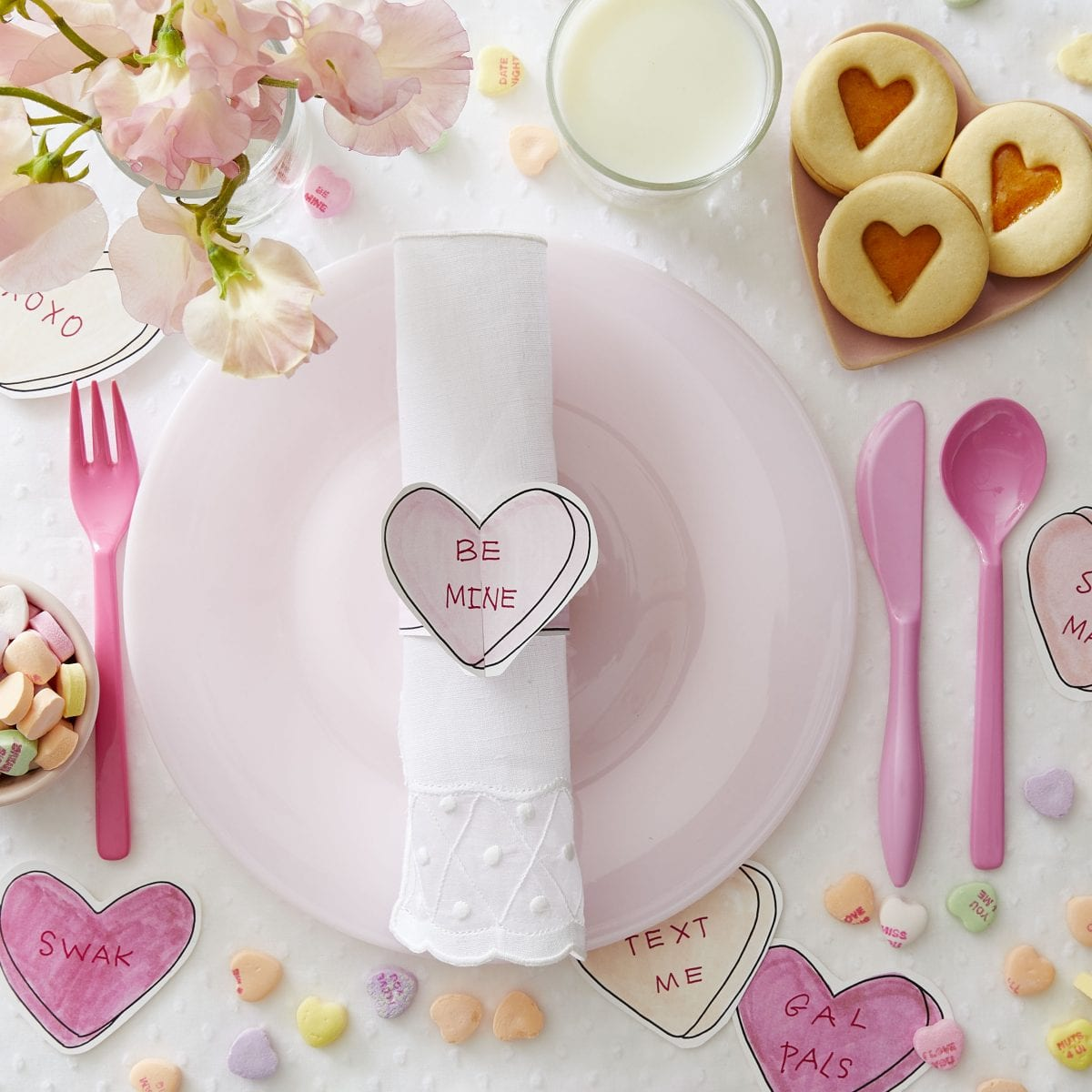 love note napkin ring | darcy miller designs