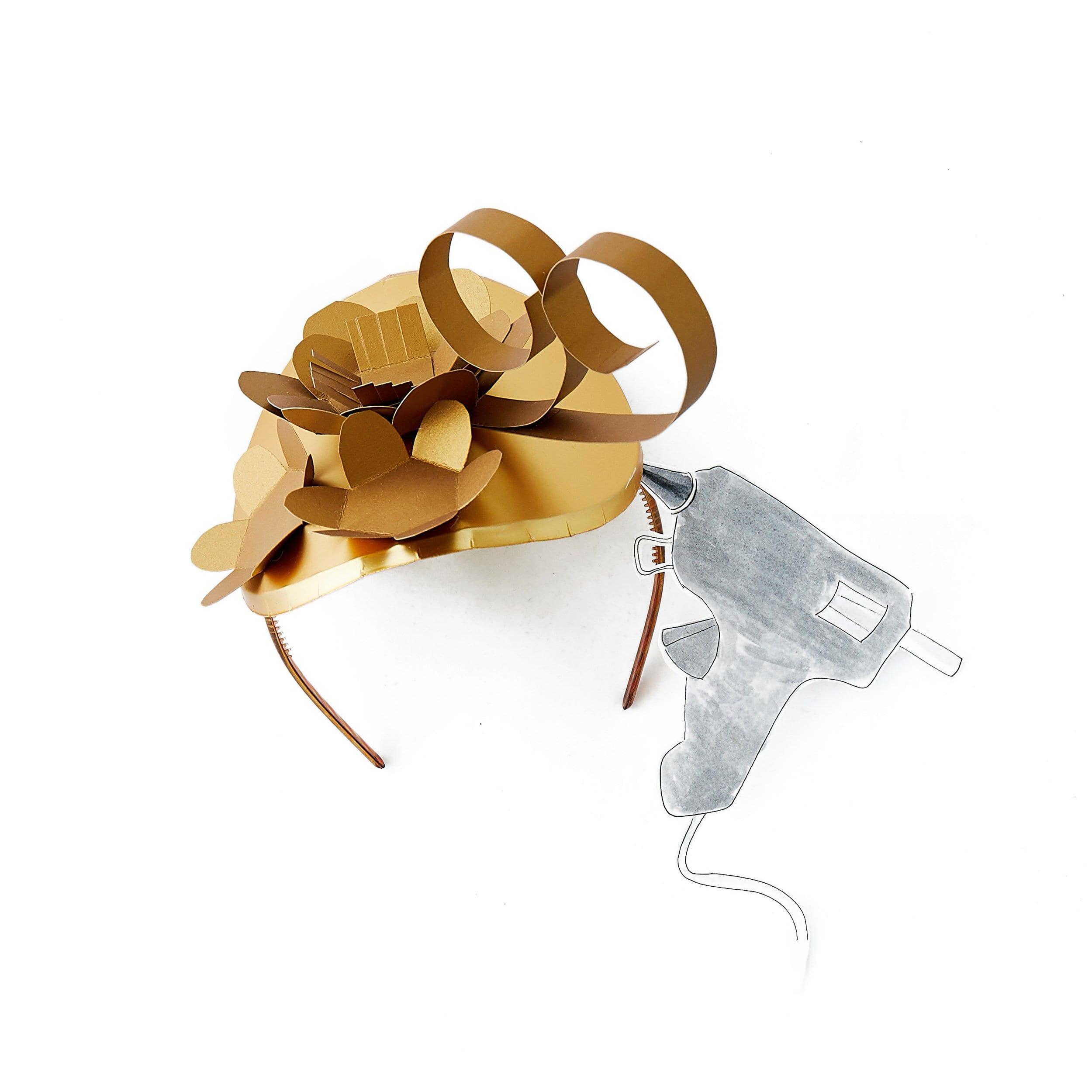 Kentucky Derby, Royal Wedding, paper hat, bridal shower, craft bar, paper craft, diy accessories, wedding craft