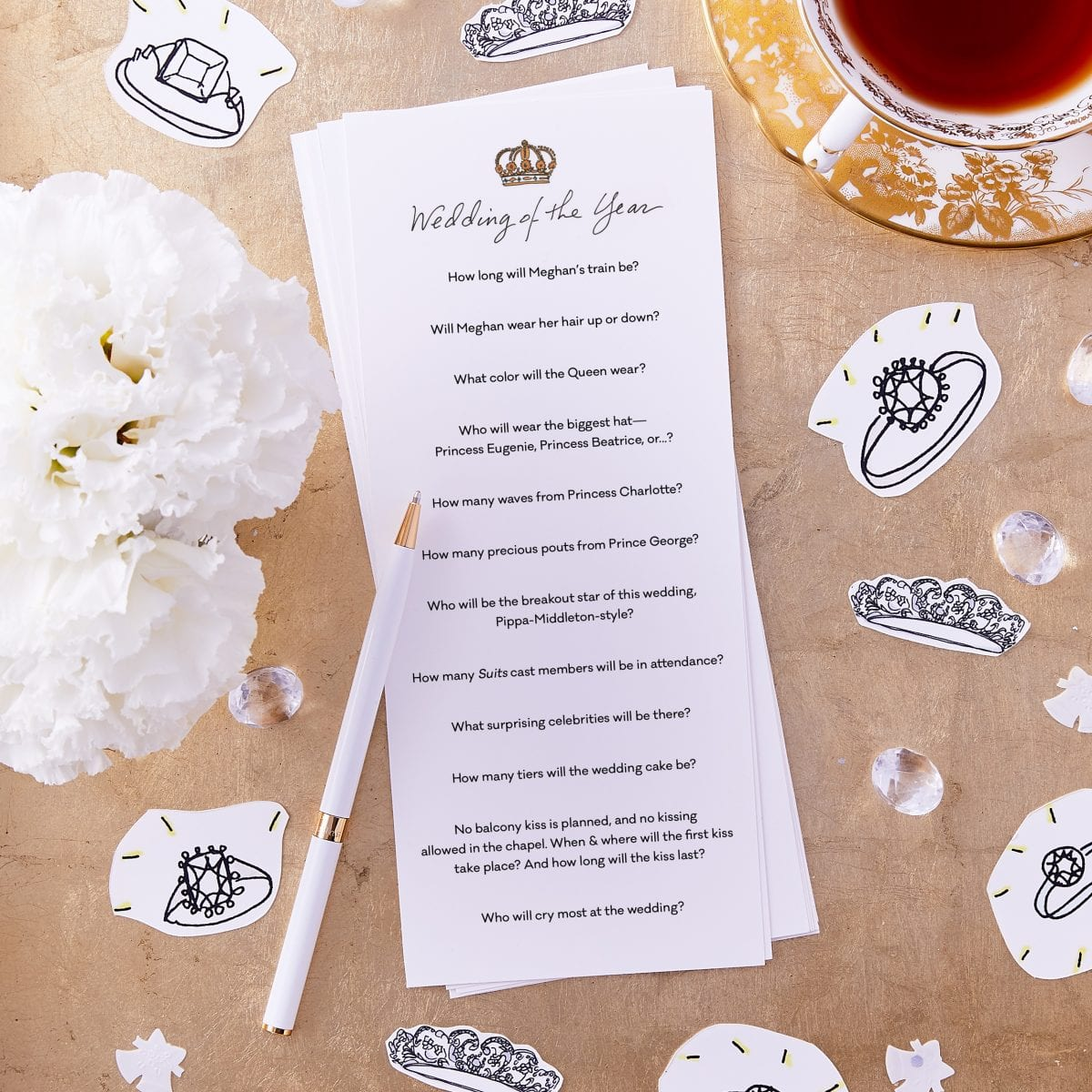 Royal Wedding Predictions | Darcy Miller Designs