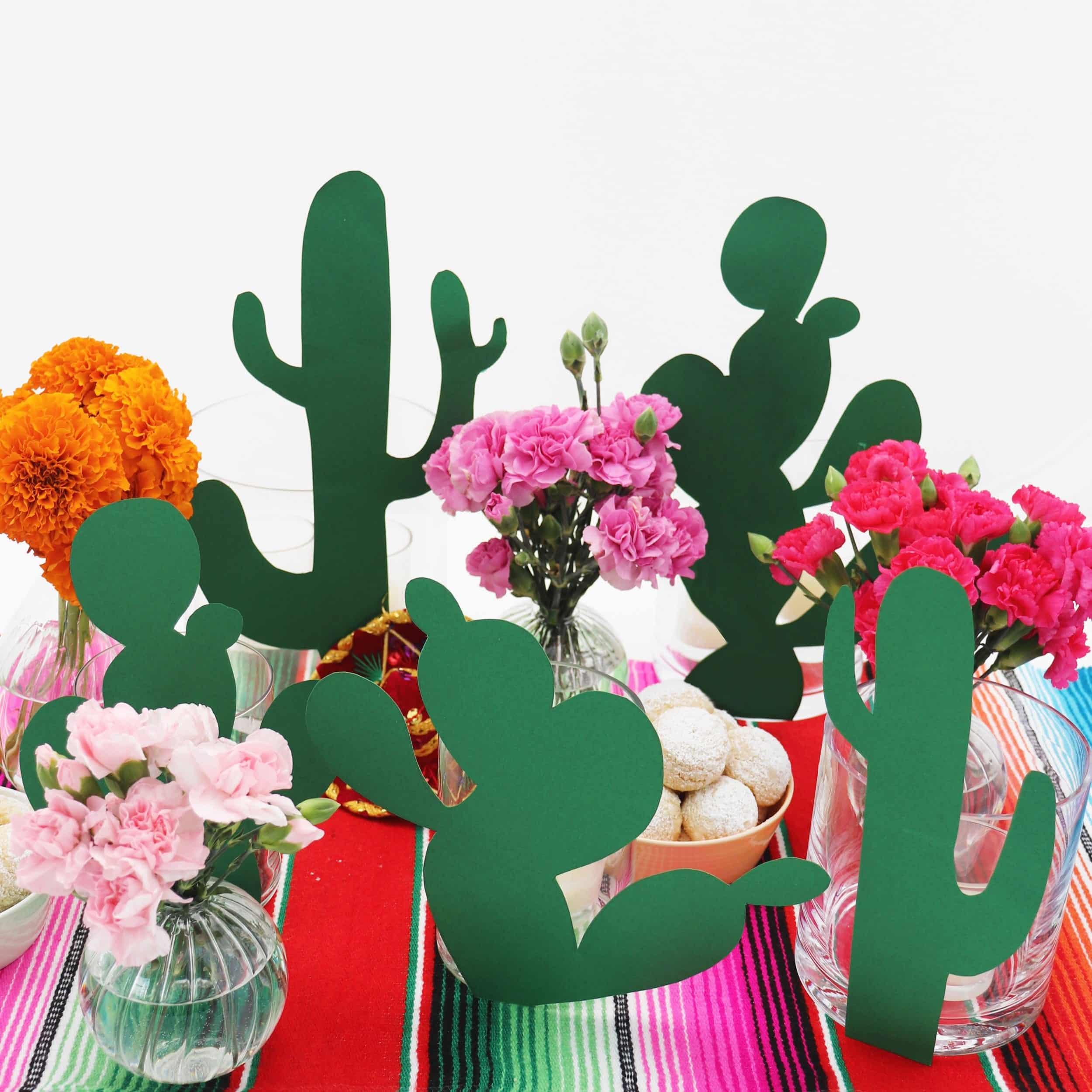 Darcy Miller Designs, Darcy Miller, Celebrate Everything, Fiesta, Crafts, Cacti, Centerpiece