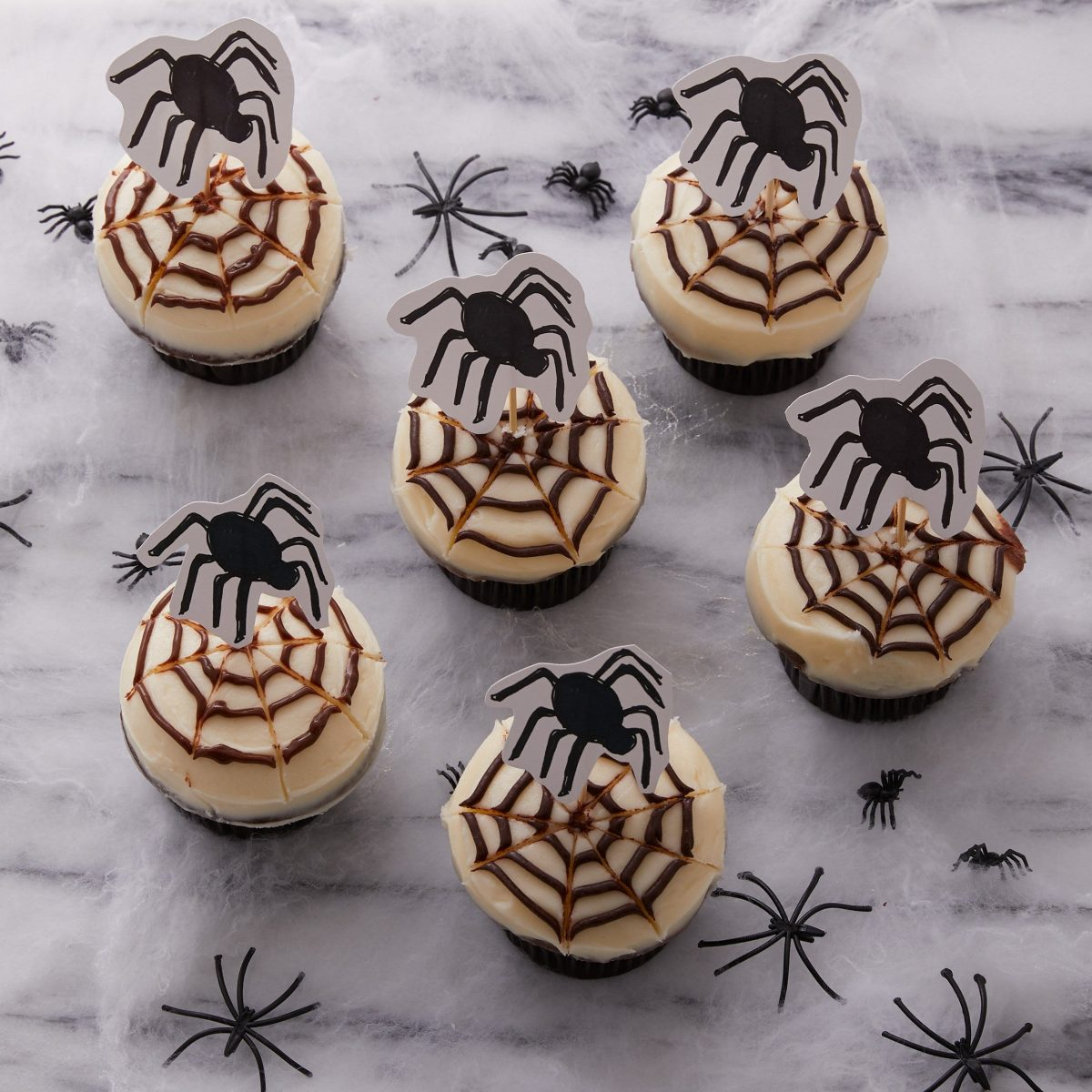 Darcy Miller, Party, Halloween Cupcake, Halloween, spider, decorating, Party, paper