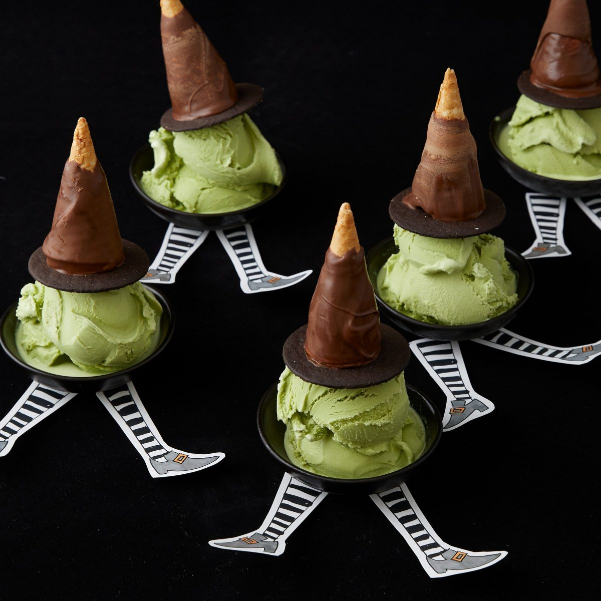 Darcy Miller, Halloween, Party, paper, chocolate, ice cream, candy corn, snack