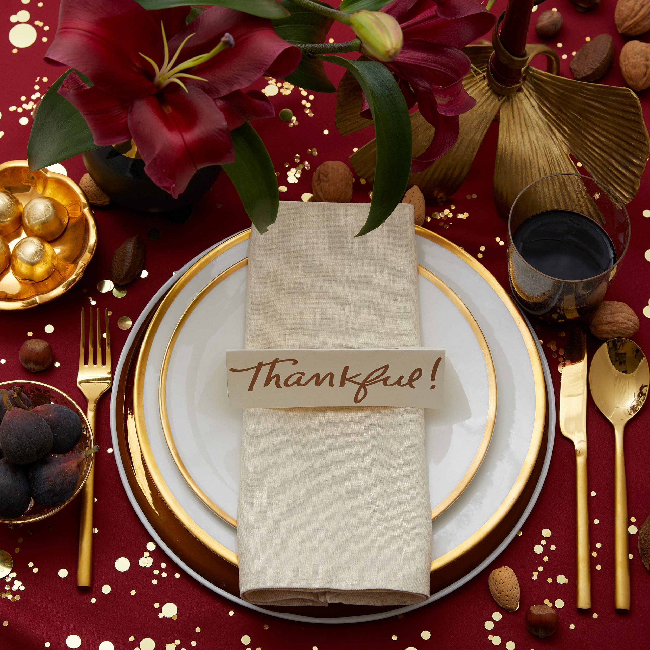 Darcy Miller, Darcy Miller Designs, Thanksgiving, Place setting, table setting, thankful, place card, easy, Printable, Template