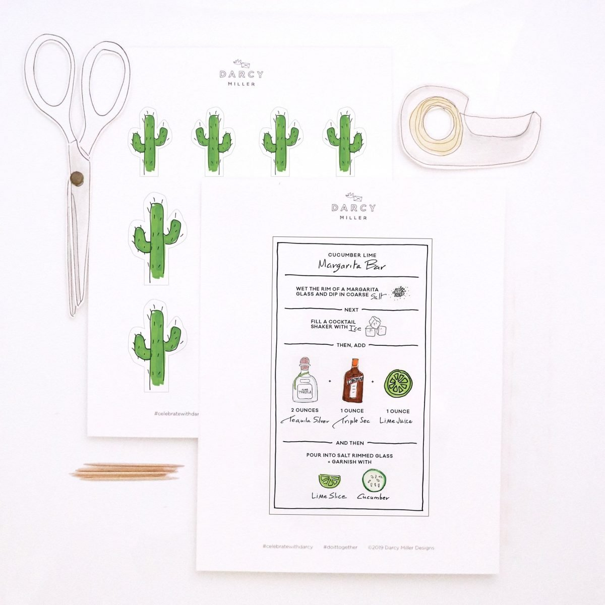 Darcy Miller Designs, Darcy Miller, margarita bar, party, food and drink