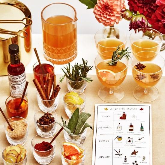 Darcy Miller Designs, Thanksgiving, Cider Bar