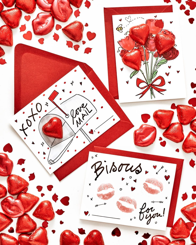 easy diy valentine's cards  darcy miller designs