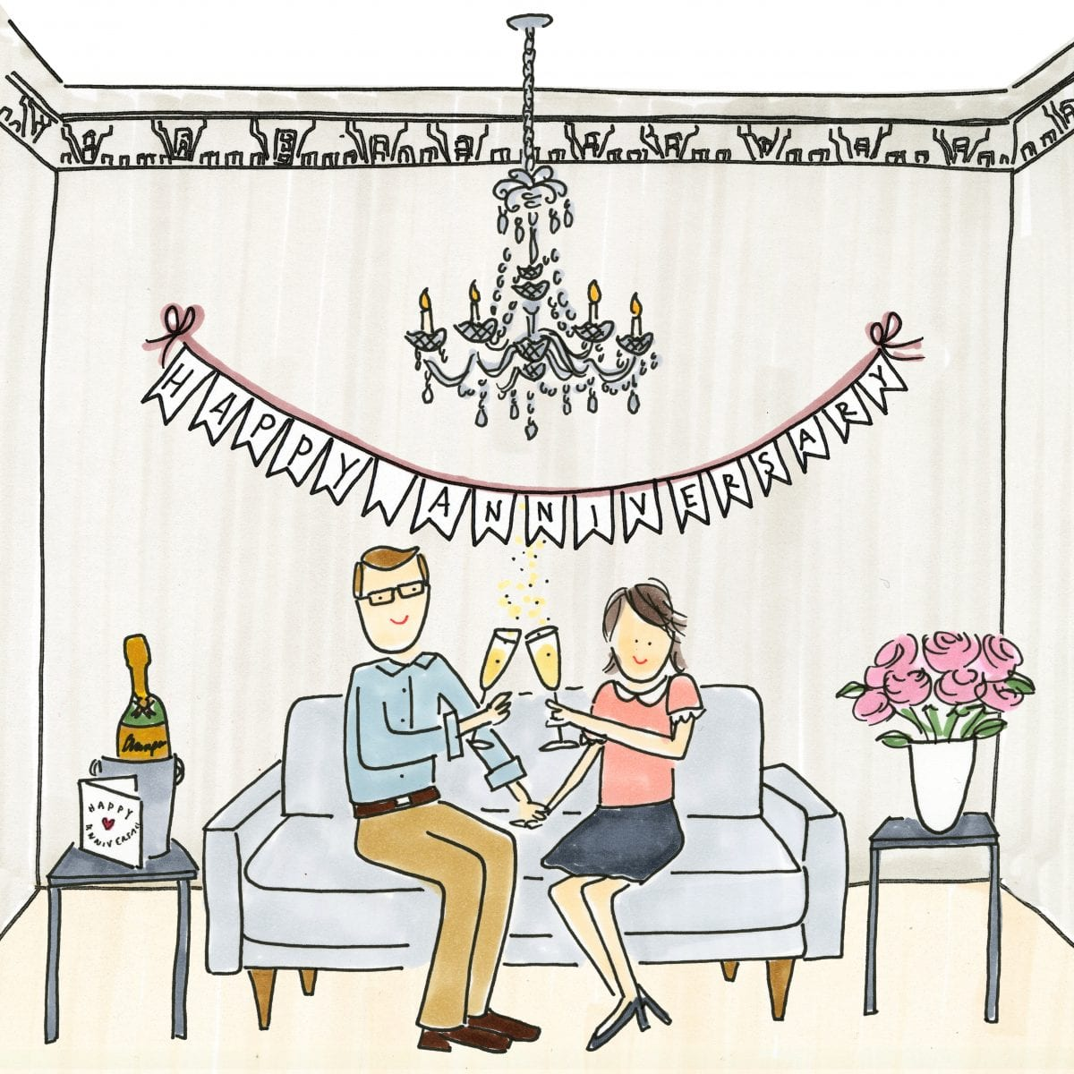 Darcy Miller Designs, Anniversary at Home