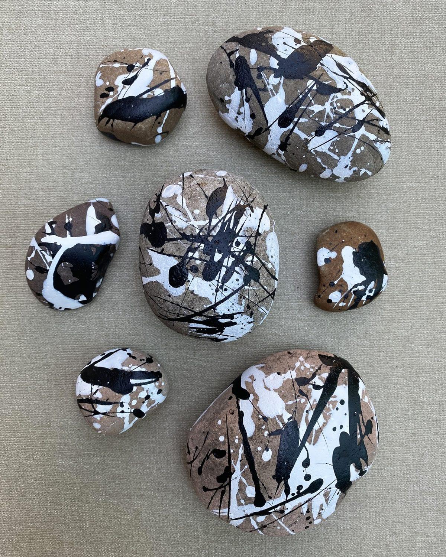 Darcy miller designs, camp darcy, rocks