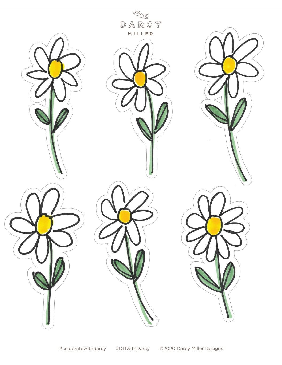 Darcy Miller Designs, Camp Darcy, flower