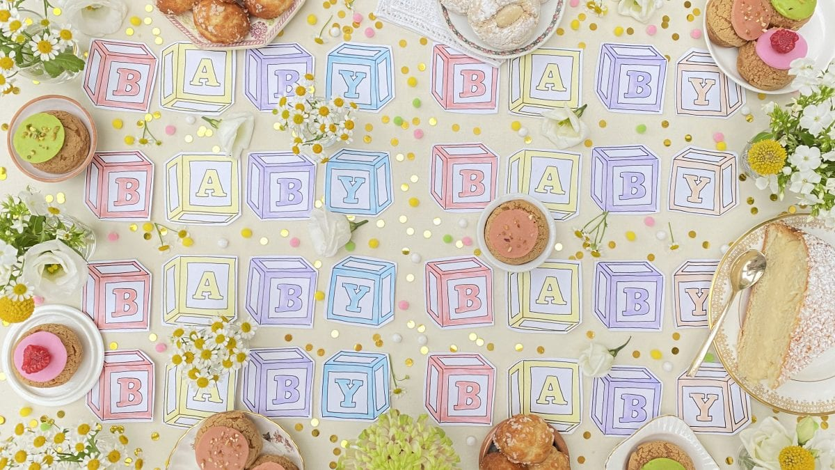 Darcy Miller, Darcy Miller Designs, Virtual Baby Shower, Sip and See