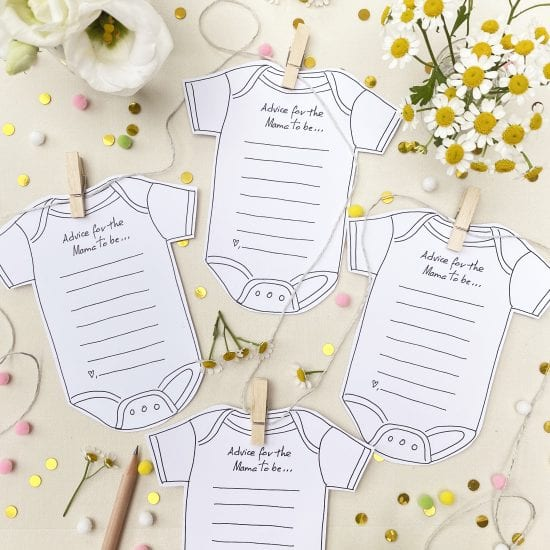 Darcy Miller, Darcy Miller Designs, Baby Shower, Baby Shower Announcement, Baby Shower Game